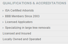 QualificationsAccreditations